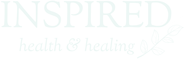 Inspired Health & Healing logo, in green color